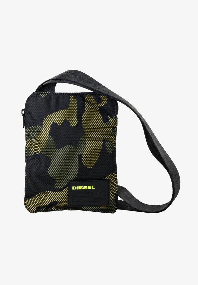 HERREN SCHULTERTASCHE, F-DISCOVER - Across body bag - gelb, schwarz