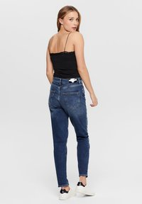 ONLY - MOM FIT JEANS - Slim fit jeans - dark blue denim - 1