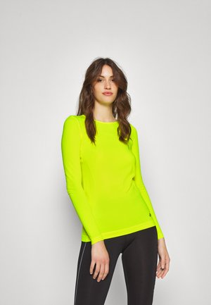ONPSTACIA CIRCULAR - Long sleeved top - safety yellow