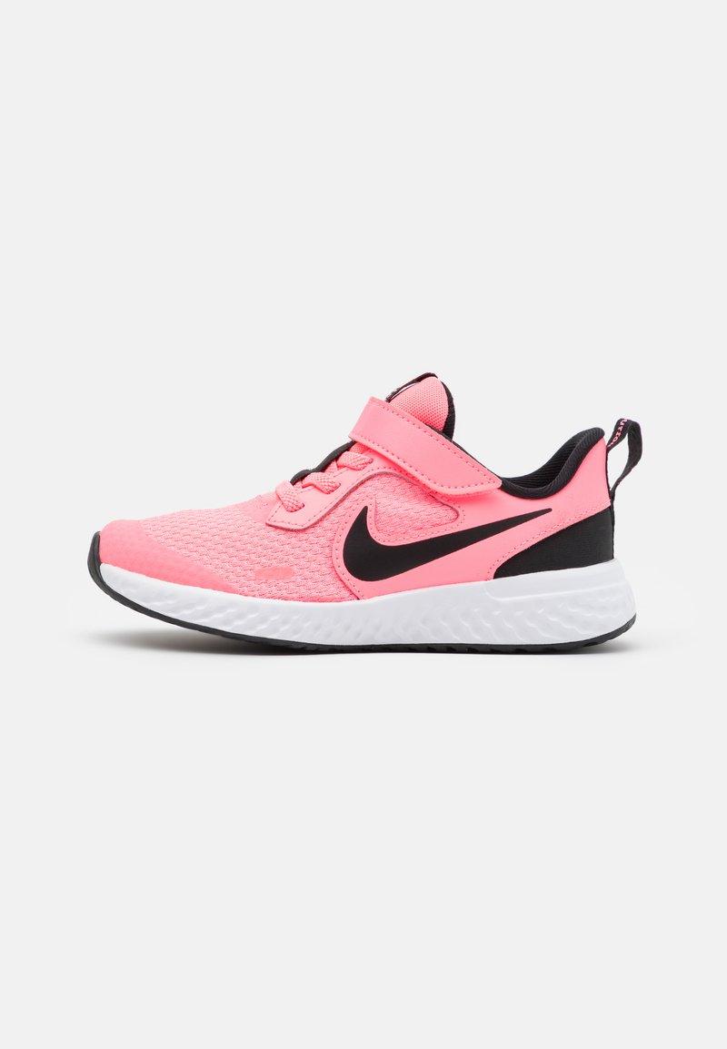 Nike Performance - REVOLUTION 5 UNISEX - Neutral running shoes - sunset pulse/black/white