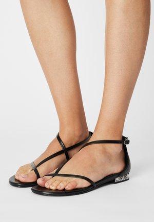 KOYA - T-bar sandals - black
