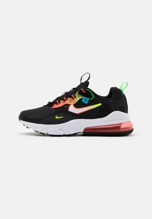 AIR MAX 270 REACT - Tenisky - black/white/green strike/flash crimson/blue fury