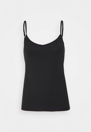 NATURAL JOY - Undershirt - black