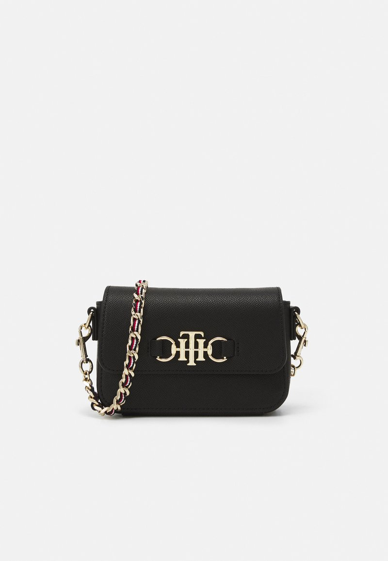 Tommy Hilfiger - CLUB MINI CROSSOVER - Across body bag - black