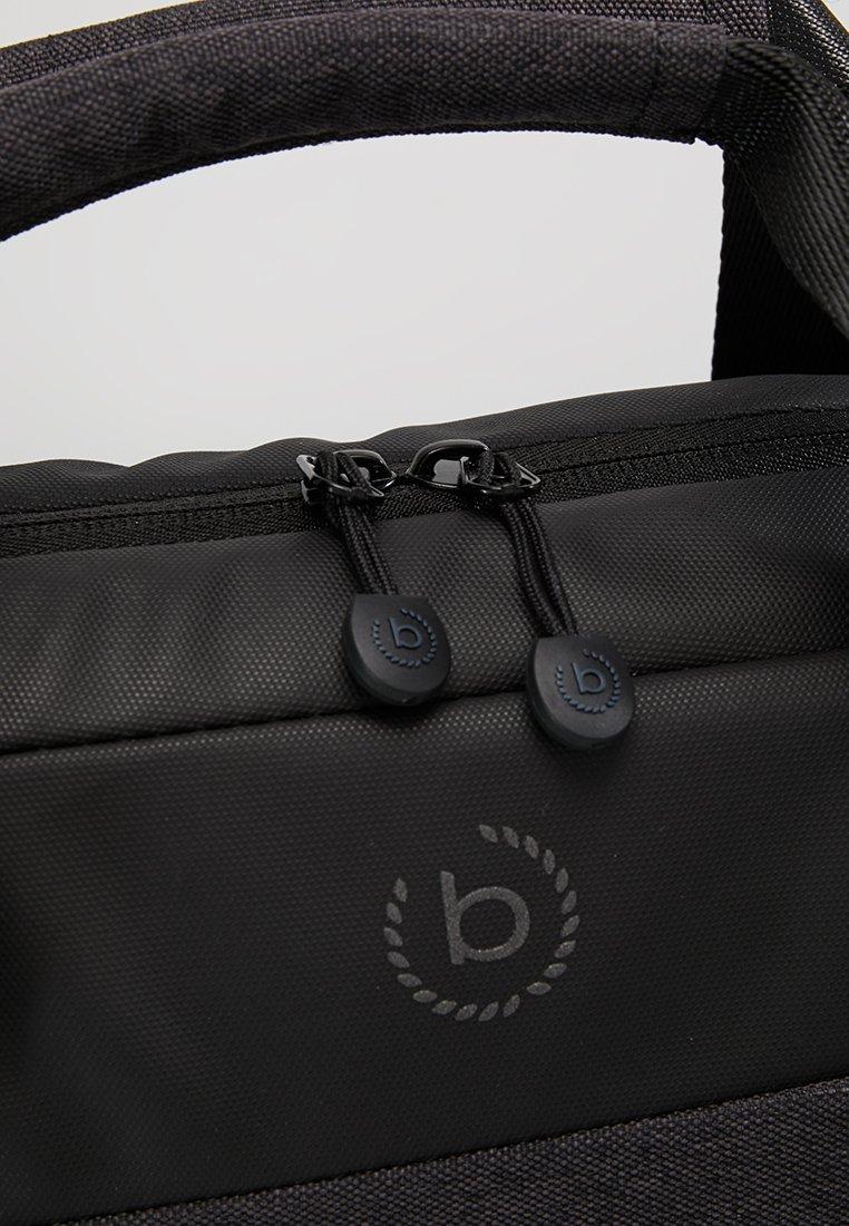 Bugatti BRIEFCASE SIMPLE - Aktentasche - schwarz/grau/dunkelgrau - Herrentaschen Pexcn