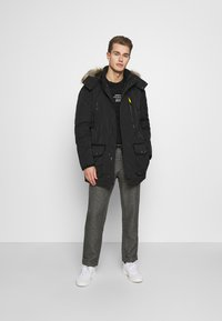 TOM TAILOR - Winter coat - black - 1