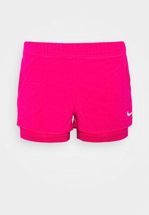 FLEX - Sports shorts - vivid pink/white