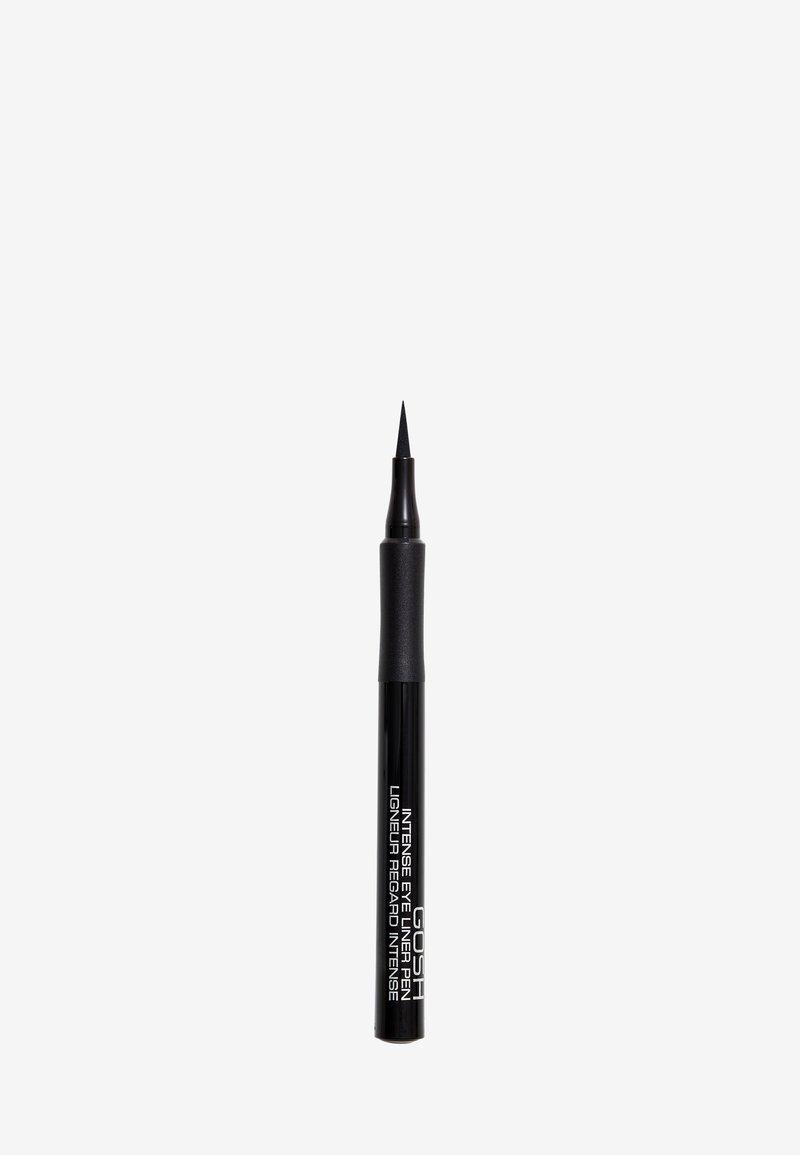 Gosh Copenhagen - INTENSE EYE LINER PEN - Eyeliner - 01 black