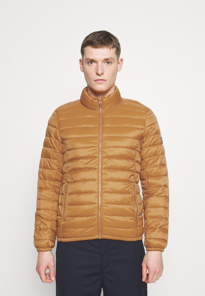 Teddy Smith - BLIGHT - Light jacket - orange topaze
