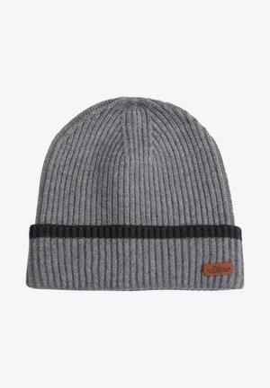 MIT STREIFEN - Beanie - light grey stripes