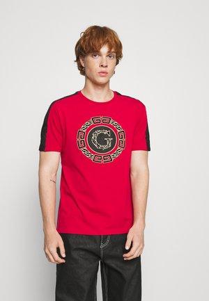 ORTIZ TEE - T-shirt print - red