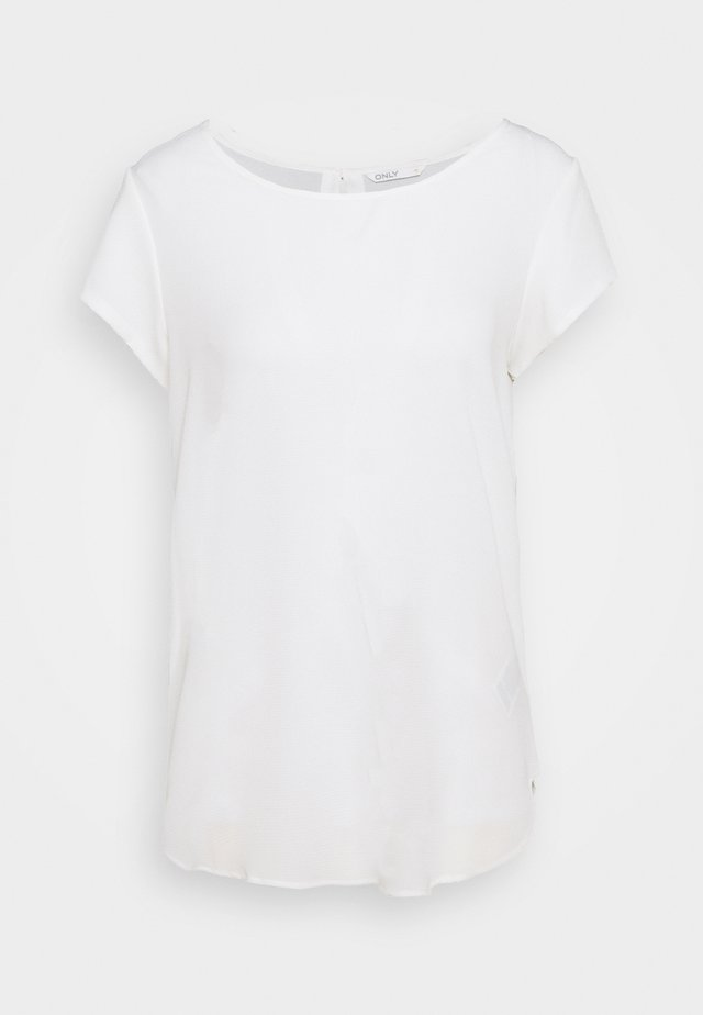 ONLNOVA LUX SOLID - T-shirt basic - cloud dancer