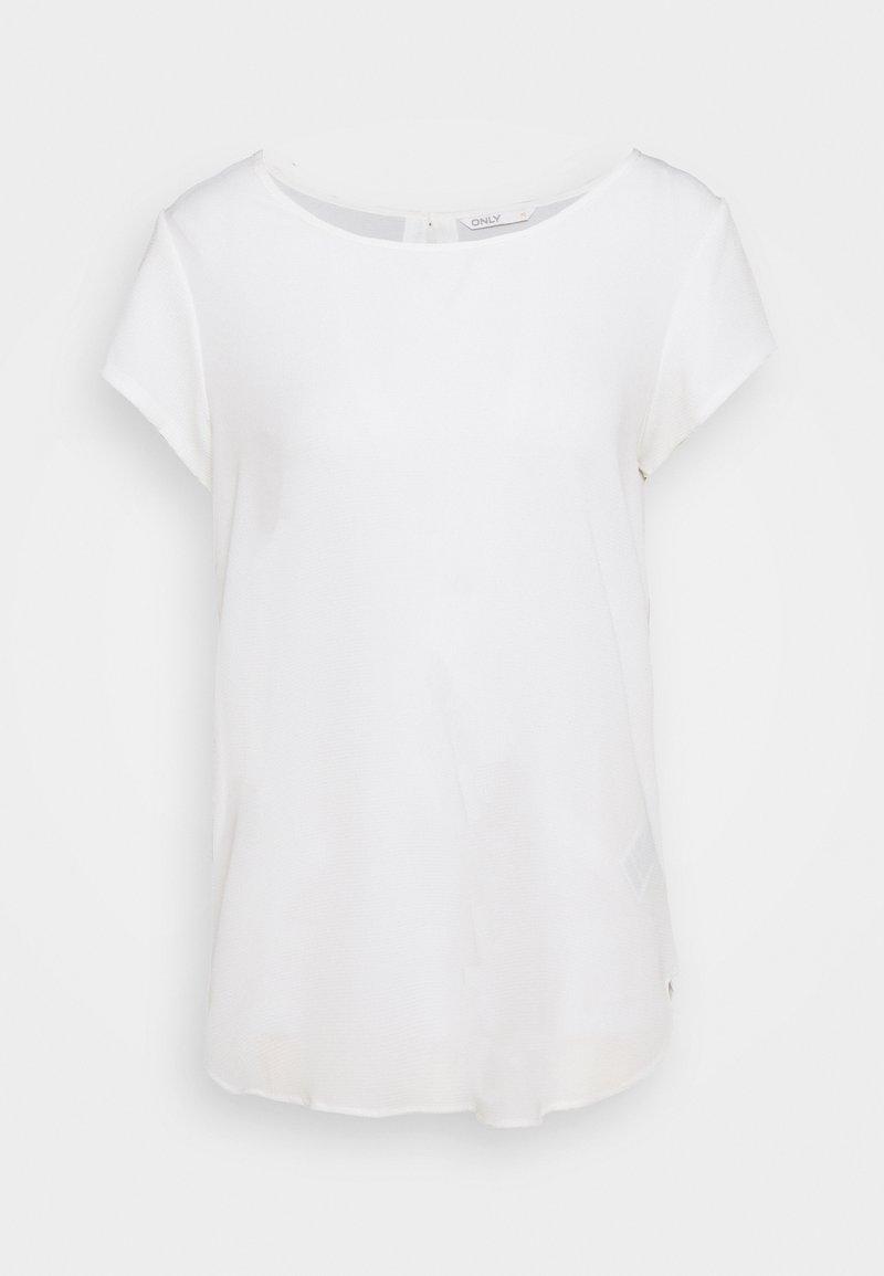 ONLY Tall - ONLNOVA LUX SOLID - Basic T-shirt - cloud dancer