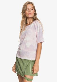 Roxy - Print T-shirt - orchid petal fly time - 3