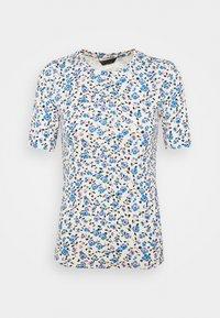 Marks & Spencer London - CREW DITSY - Camiseta estampada - white - 0