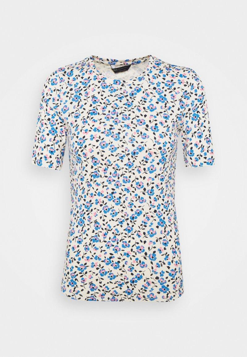 Marks & Spencer London - CREW DITSY - Camiseta estampada - white