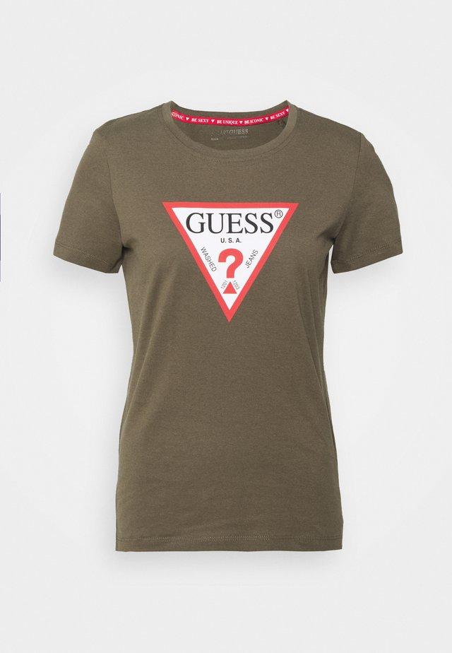 ORIGINAL - T-shirt z nadrukiem - greenstone