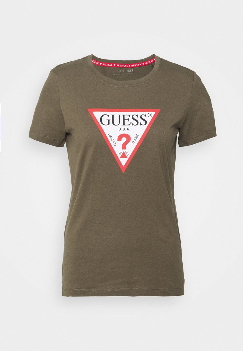 Guess - ORIGINAL - T-shirts med print - greenstone