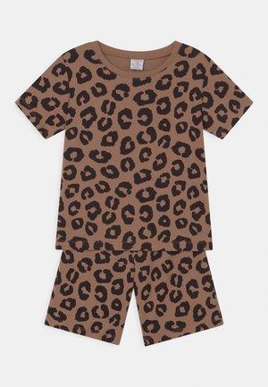 SET UNISEX - Pyjama set - light brown
