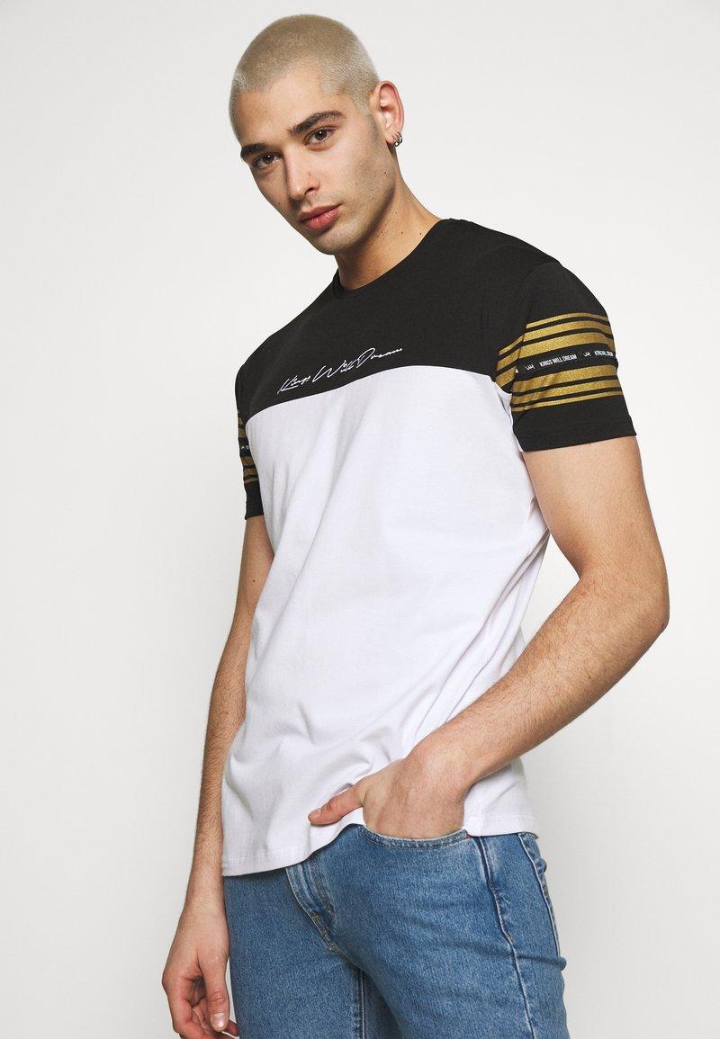 Kings Will Dream - KINGS WILL DREAM - T-Shirt print - white/ gold