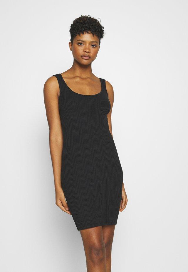 JDYMARNI LIFE TANK DRESS  - Sukienka etui - black