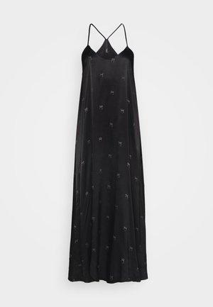LONG DRESS MEDAL - Maxi dress - black
