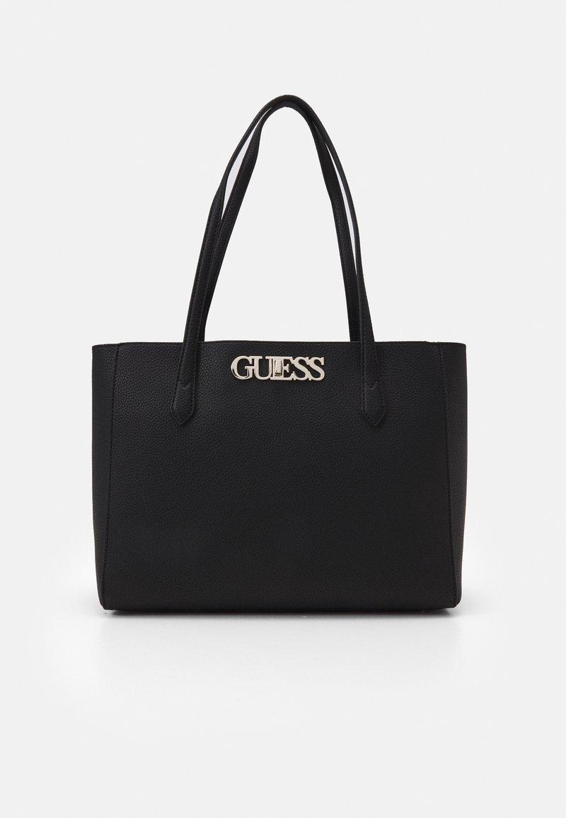 Guess - UPTOWN CHIC ELITE TOTE - Handbag - black
