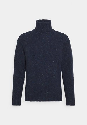 MENS ROLL NECK - Jumper - dark blue