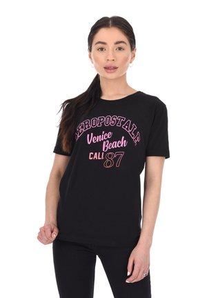 VENICE  - Print T-shirt - black