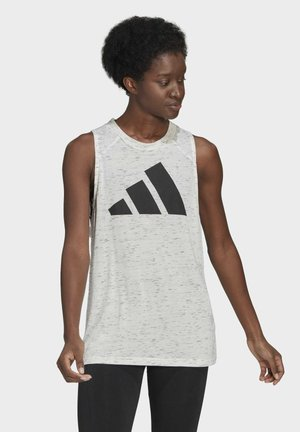 WIN 2.0 PRIMEGREEN TANK - Top - white