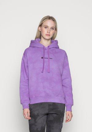 HOODED - Sweatshirt - purple