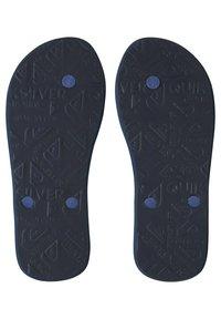 Quiksilver - T-bar sandals - blue/blue/black - 2
