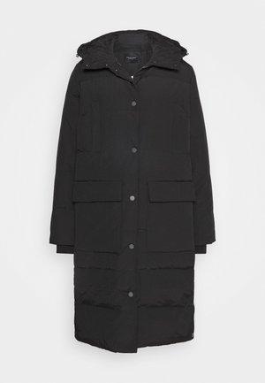 SLFJENNY COAT - Kabát zprachového peří - black