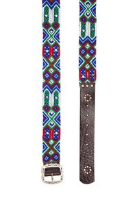 Smitten - PUEBLA PREPPY - Belt - blau/grün/rot/weiss - 2