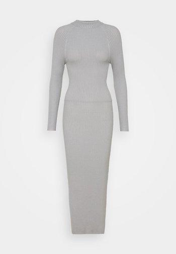TIE BACK DRESS - Jumper dress - grey