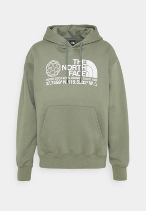 COORDINATES HOODIE - Mikina s kapucí - agave green