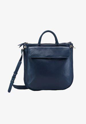 HABBY CO - Tote bag - bleu nuit