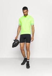 ODLO - STAND UP COLLAR ZIP ESSENTIAL - Cycling Jersey - lounge lizard - 1