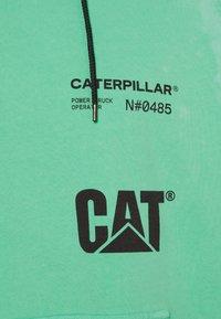 Caterpillar - HOODIE - Sweatshirt - mint - 2