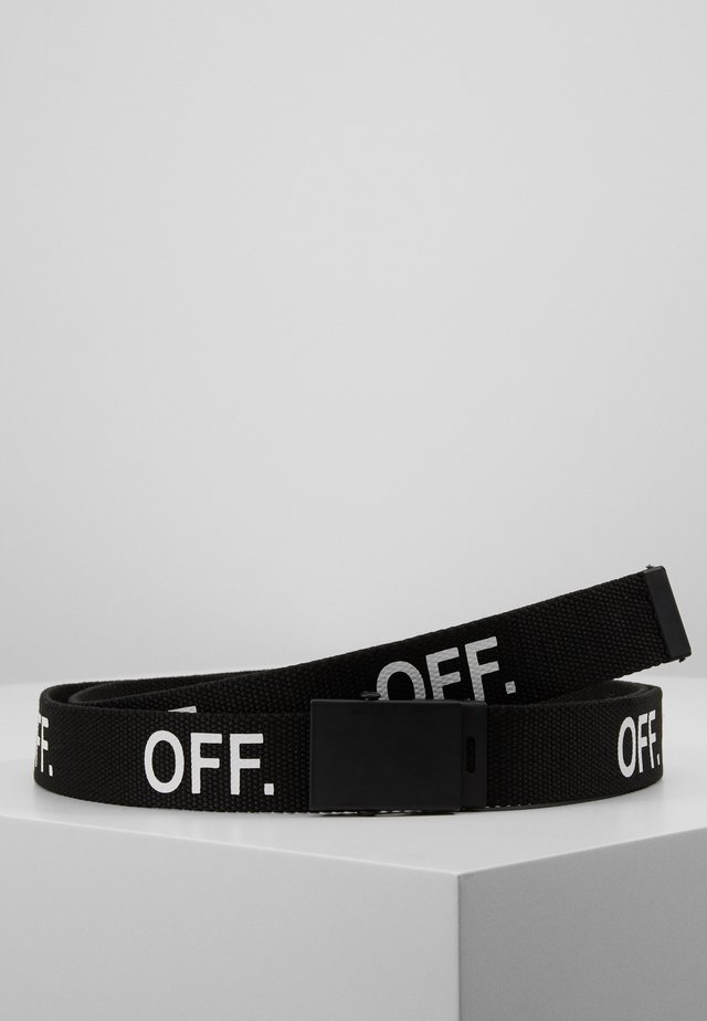 OFF BELT - Ceinture - black