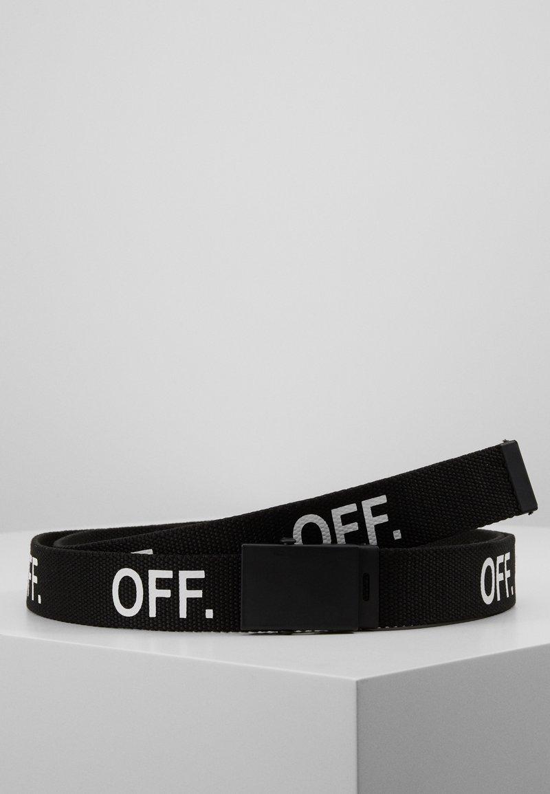Urban Classics - OFF BELT - Belt - black