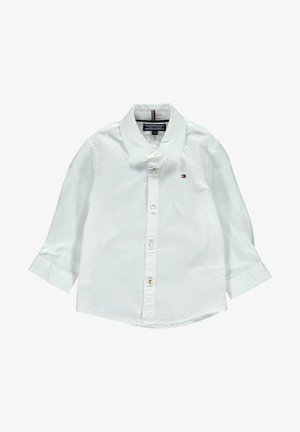 Button-down blouse - weiss