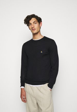 CLASSIC ROUND NECK - Pullover - navy