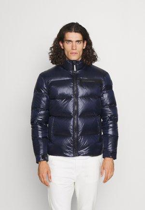 MID COLLAR SHINY LIGHT - Down jacket - blue