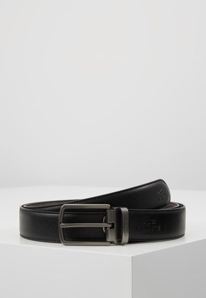REVERSIBLE CURVED BOX SET - Belt - black/dark brown
