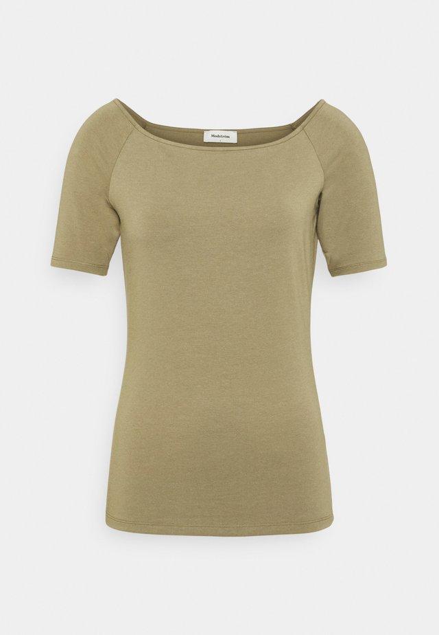 TANSY  - T-shirt basic - light khaki