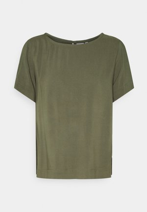IHMAIN - Jednoduché triko - ivy green