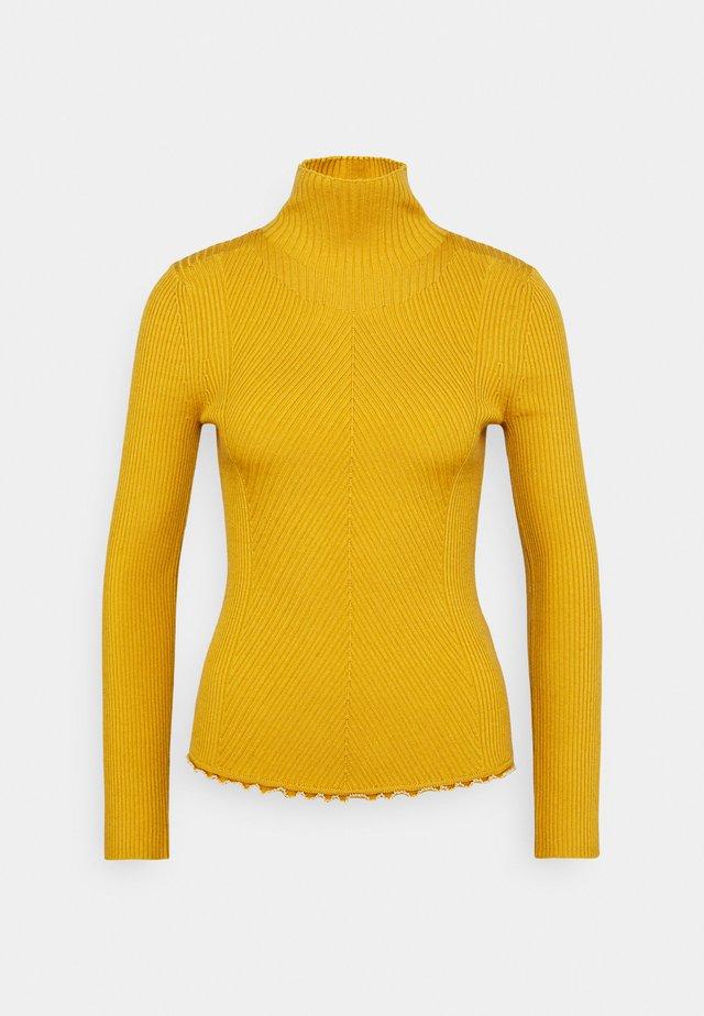 TURTLENECK - Sweter - gold