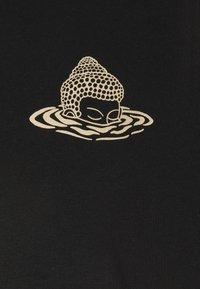 WAWWA - RISE UNISEX - Printtipaita - black - 2