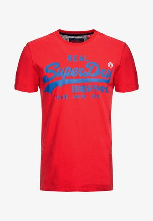 T-Shirt print - lollipop red